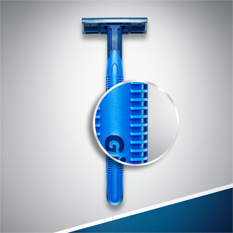 "Set rasoi ""Usa e geta"", 2pz - Gillette Blue II Plus Chromium — foto N7"