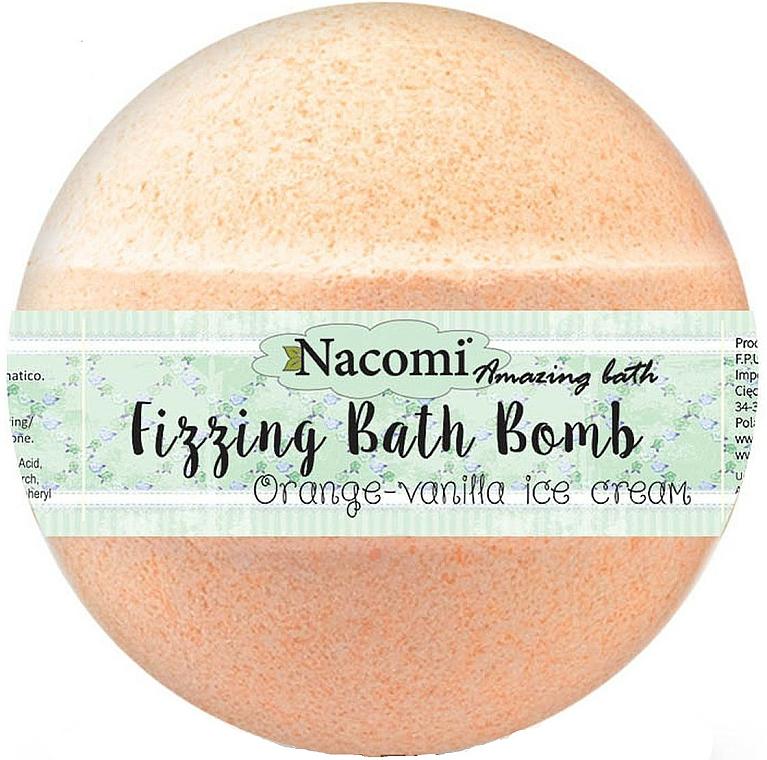 Bomba da bagno - Nacomi Orange Vanilla Bath Bomb