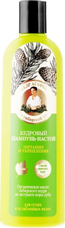 """Shampoo-infusione al pino siberiano """"Nutrizione e rafforzamento"""" - Ricette di nonna Agafya"""