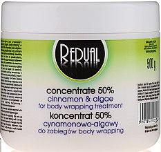 Profumi e cosmetici Concentrato snellente alle alghe e cannella 50% - BingoSpa Redual Concentrate 50% of The Cinnamon-Algae Treatment Body Wrapping