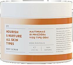 Profumi e cosmetici Scrub corpo nutriente - You & Oil Nourish & Nuture