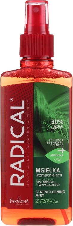 Spray rinforzante per capelli danneggiati e cadenti con estratto di Equiseto di campo - Farmona Radical