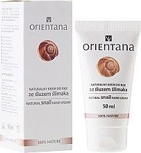 Profumi e cosmetici Crema mani - Orientana Natural Snail Hand Cream