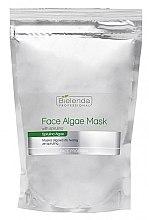 Profumi e cosmetici Maschera viso alle alghe con spirulina - Bielenda Professional Algae Spirulina Face Mask (ricarica)