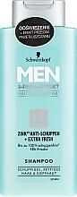 Profumi e cosmetici Shampoo anti forfora - Schwarzkopf Men Deep Effect 3 Zinc Anti-Dandruff+Oil Control Shampoo