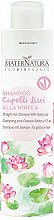 Profumi e cosmetici Shampoo per capelli dritti con ninfee - MaterNatura Water Lily Shampoo