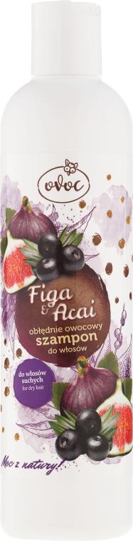 Shampoo con estratto di fichi e frutta - Ovoc Figa & Acai Szampon