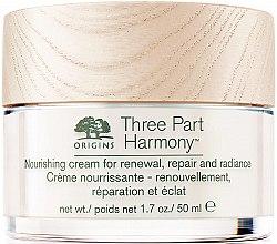 Profumi e cosmetici Crema viso idratante - Origins Three Part Harmony Nourishing Cream