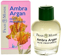 Profumi e cosmetici Olio profumato - Frais Monde Ambra Argan Perfume Oil
