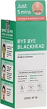 Profumi e cosmetici Maschera peel-off anti punti neri - Some By Mi Blackhead 30Days Miracle Green Tea Tox Bubble Cleanser