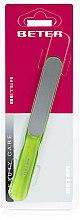 Profumi e cosmetici Lima per unghie ergonomica verde chiaro con superficie laser - Beter Beauty Care