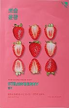 "Profumi e cosmetici Maschera in tessuto ""Fragola"" - Holika Holika Pure Essence Mask Strawberry"