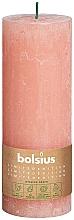 Profumi e cosmetici Candela cilindrica, rosa, 190x68 mm - Bolsius