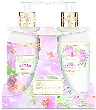Profumi e cosmetici Set - Baylis & Harding Royal Bouquet Rose & Honeysuckle (b/lot/300ml + soap/300ml)