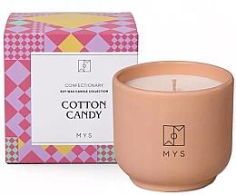 """Profumi e cosmetici Candela di soia """"Zucchero filato"""" - Mys Cotton Candy Candle"""