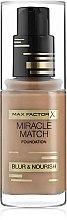 Profumi e cosmetici Fondotinta - Max Factor Miracle Match Foundation Blur & Nourish