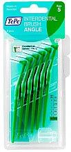 Profumi e cosmetici Pennello interdentale - TePe Interdental Brushes Angle Green 0,8 mm