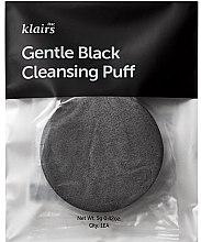 Profumi e cosmetici Spugna per il lavaggio - Klairs Gentle Black Cleansing Puff