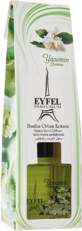 """Diffusore di aromi """"Gelsomino"""" - Eyfel Perfume Reed Diffuser Jasmin"""