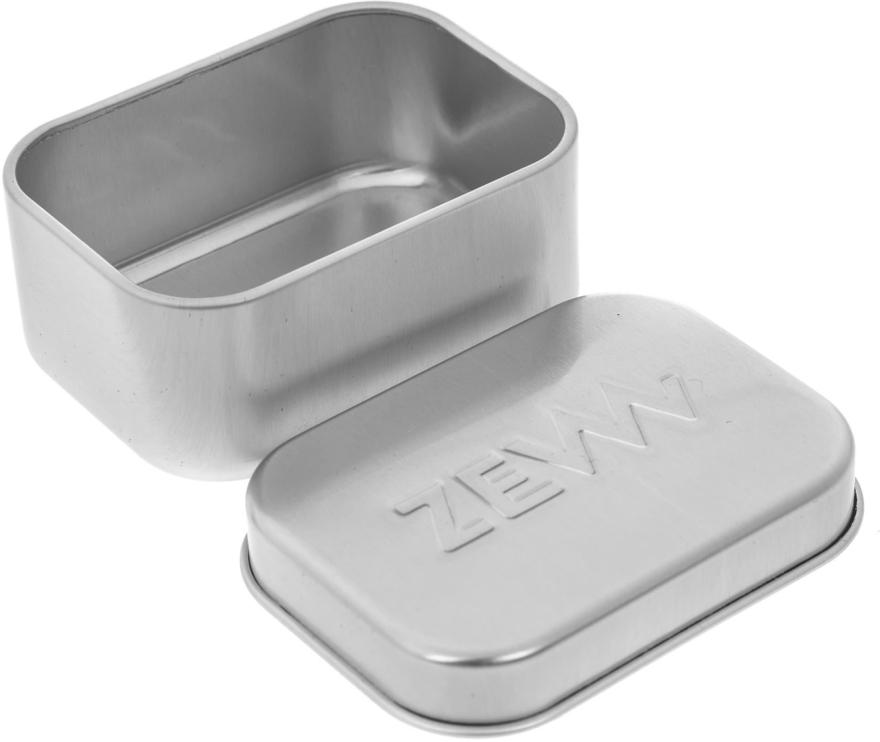 Set - Zew Demanding Traper Set (ash/balm/80ml + sopa/85ml + f/b/cr/80ml + soap/dish/1pcs) — foto N6