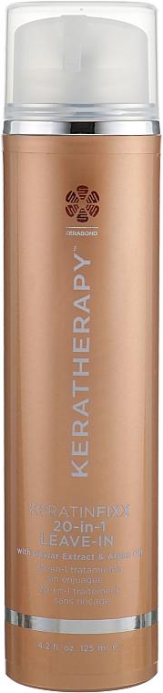 Trattamento per capelli senza risciacquo con estratto di caviale e olio di argan - Keratherapy Keratin Fixx 20-In-1 Leave-In — foto N1