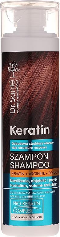 Shampoo per capelli opachi e fragili - Dr. Sante Keratin Shampoo