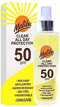 Profumi e cosmetici Spray solare - Malibu Clear All Day Protection SPF 50