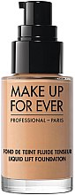 Profumi e cosmetici Fondotinta - Make Up For Ever Liquid Lift Foundation