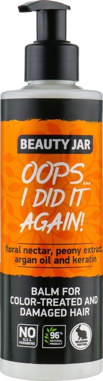 Balsamo per capelli colorati e danneggiati - Beauty Jar Oops I Did It Again