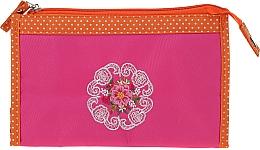 "Profumi e cosmetici Beauty case ""Mandala"", 98147, rosa-arancio - Top Choice"