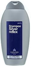 Profumi e cosmetici Shampoo colorazione argento - Kallos Cosmetics Silver Reflex Shampoo