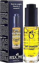 Profumi e cosmetici Olio per unghie - Herome Exit Damaged Nails
