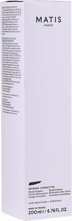 Lozione viso rivitalizzante - Matis Hyalu-Essence Restorative Face Lotion