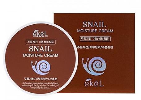 Crema viso alla bava di lumaca - Ekel Snail Moisture Cream — foto N1