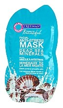 "Profumi e cosmetici Maschera viso antistress ""Minerali del Mar Morto"" - Freeman Feeling Beautiful Dead Sea Minerals Anti-Stress Mask (mini)"