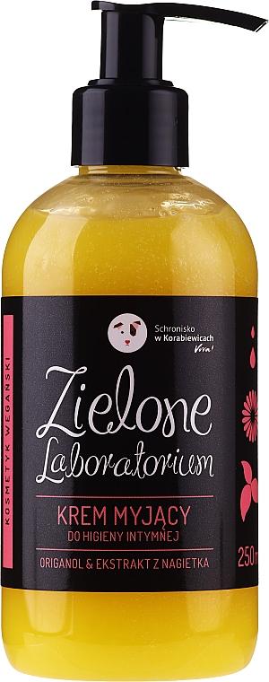 Crema detergente intima con estratto di calendula - Zielone Laboratorium — foto N1