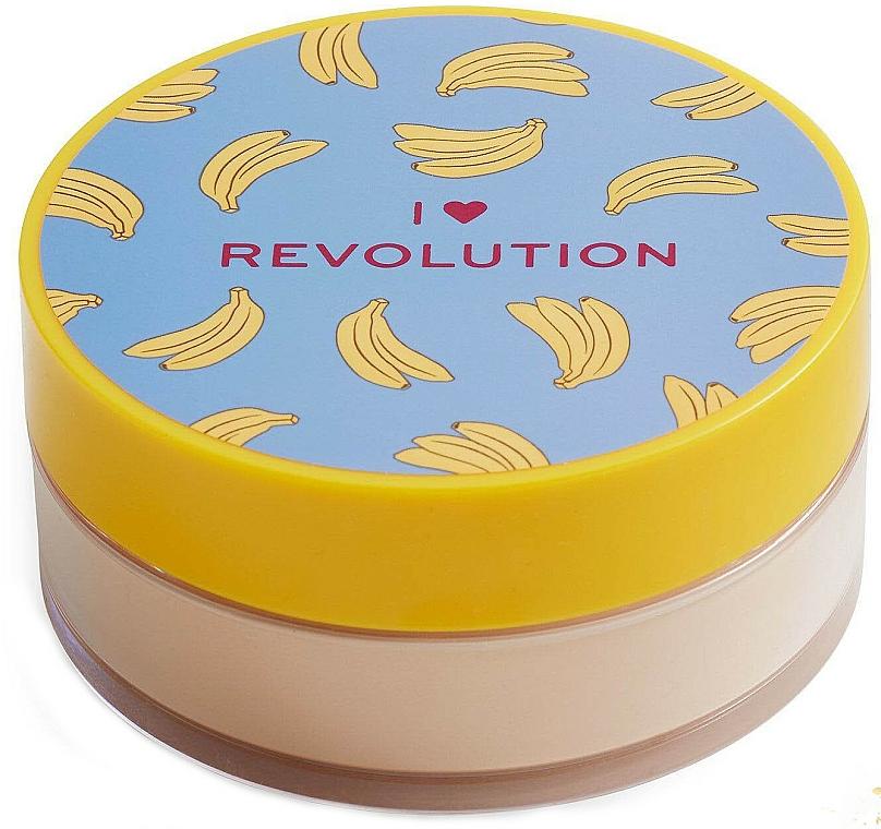 """Cipria """"Banana Powder"""" - I Heart Revolution Loose Baking Powder Banana"""