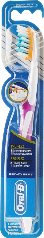 Spazzolino da denti, lilla - Oral-B Pro-Expert Pro-Flex 38 Medium — foto N1