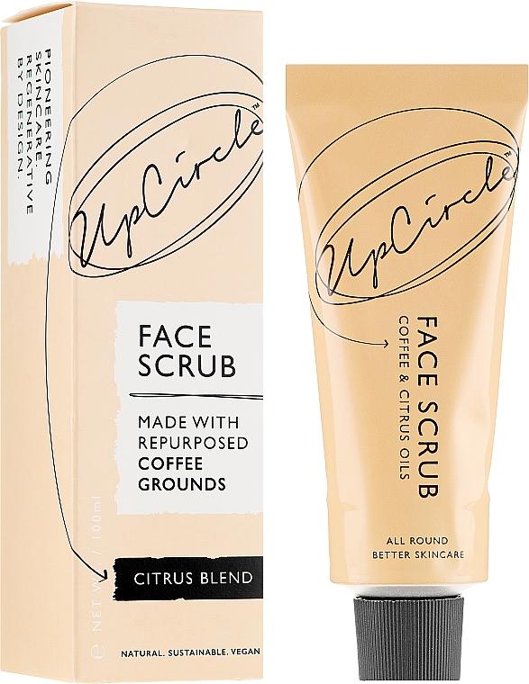 "Scrub viso al caffè ""Agrumi"" - UpCircle Coffee Face Scrub Citrus Blend"