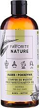 Profumi e cosmetici Shampoo per capelli grassi con estratti di aloe e ortica - Favorite Nature Shampoo For Oily Hair Aloes & Nettle