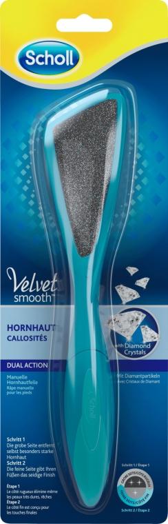 Lima bilaterale per piedi - Scholl Velvet Smooth Dual Action — foto N1