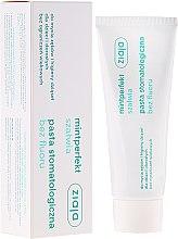Profumi e cosmetici Dentifricio con estratto di salvia, senza fluoro - Ziaja Mintperfect