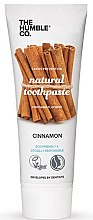 Profumi e cosmetici Dentifricio naturale alla cannella - The Humble Co. Natural Toothpaste Cinnamon