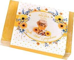"""Profumi e cosmetici Sapone """"Propoli"""" - Delicate Organic Aroma Soap"""