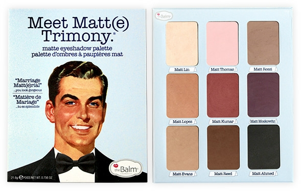 Palette ombretti - TheBalm Meet Matt(e) Trimony Matte Eyeshadow Palette