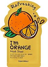 Profumi e cosmetici Maschera viso in tessuto all'estratto di arancia - Tony Moly I Am Orange Mask Sheet