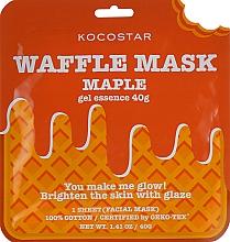 """Profumi e cosmetici Maschera rigenerante """"Sciroppo d'acero"""" - Kocostar Maple Waffle Mask"""