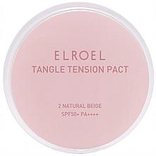 Profumi e cosmetici Fondotinta opacizzante per pelli grasse - Elroel Tangle Tension Pact SPF 50+/PA ++++