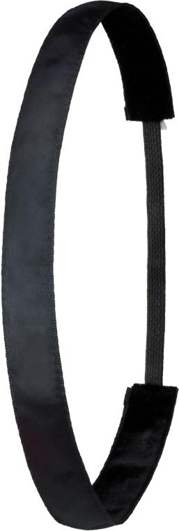 Fascia per capelli, nero - Ivybands Classic Black Hair Band