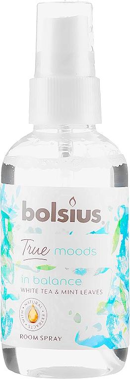 "Spray profumato ""Tè bianco e foglie di menta"" - Bolsius Room Spray True Moods In Balance"
